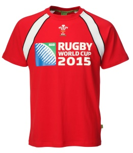 Mens Official RWC 2015 Contrast Printed T-shirt