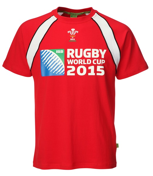Childrens Official RWC 2015 Printed Contrast T-shirt