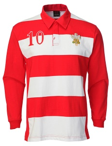 Selina Hooped Rugby Shirt