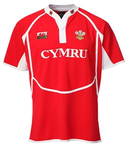 New Cooldry Welsh RED Rugby Shirt