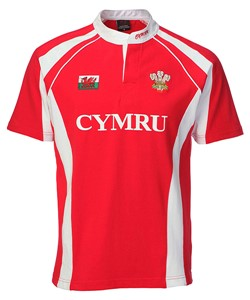 Kids Haka Welsh Rugby Shirt