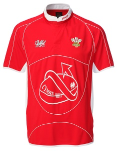Baby Rhys Cooldry Welsh Rugby Shirt