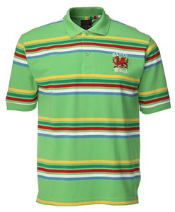 Yarn Dyed Green Polo Shirt
