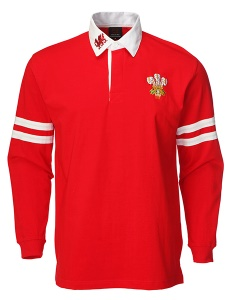 Long Sleeve Arm Stripe Rugby Shirt