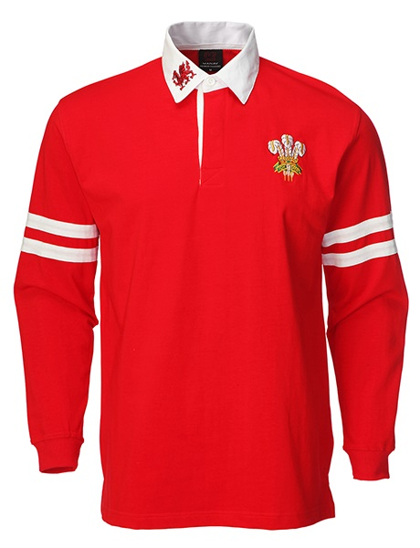 Long sleeve arm stripe rugby shirt for Long sleeve striped rugby shirt