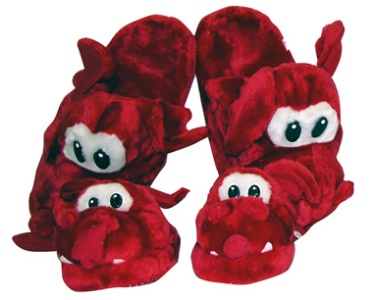 Baby/Child Welsh Dragon Plush Slippers