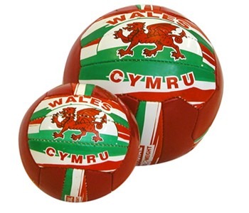Wales Hand Stitched Footballs