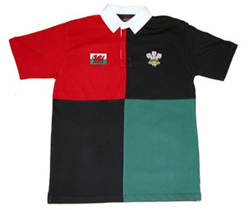 Kids Harlequin Rugby Shirt