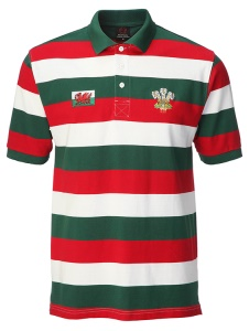 Kids WC Welsh Yarn Polo Shirt