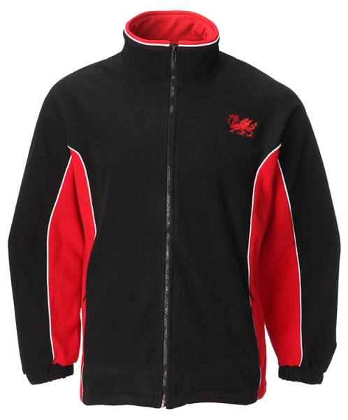 Welsh Contrast Fleece Jacket
