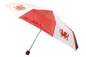 Ladies Telescopic Welsh Umbrella Brolly