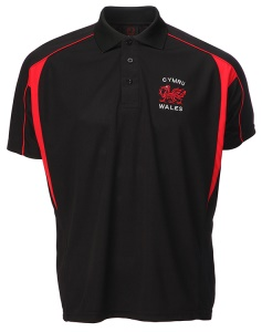 Cooldry Black Selina Polo Shirt