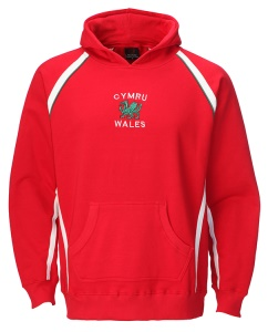 Welsh Overhead Hoody Red Sweatshirt