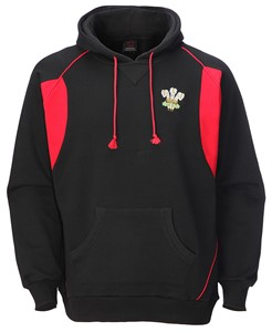 Kids Welsh Contrast Hoody