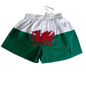 Welsh Dragon Flag Boxer Shorts