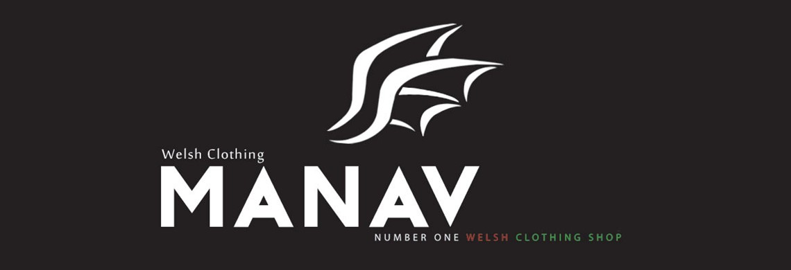 Official Manav Welsh clothing, Welsh gifts and Welsh accessories