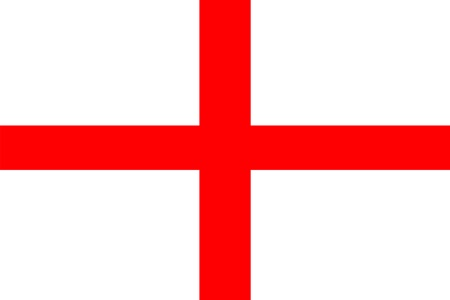 English St George Flag 5' x 3'