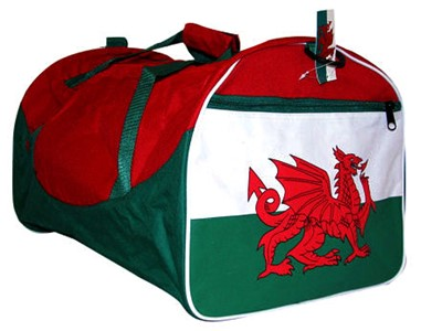 Welsh Flag Holdall