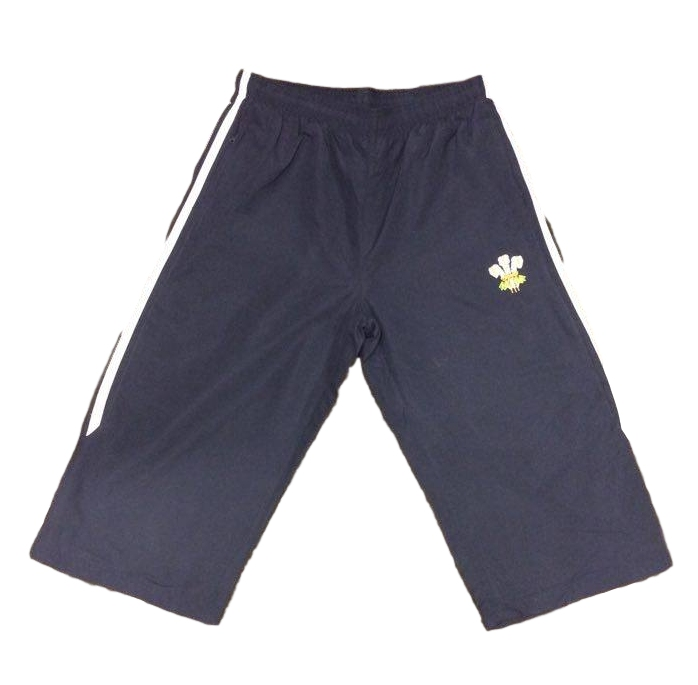Boys 3/4 Navy Jogging Bottoms