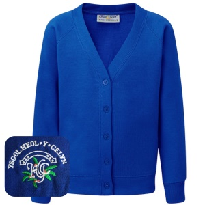 Heol-y-Celyn Primary Blue Cardigan