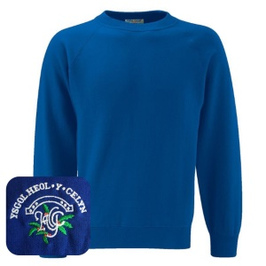 Heol-y-Celyn Primary Blue Sweatshirt