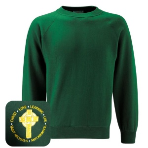 St Michael's Primary Green Jumper