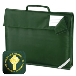 St Michael's Primary Bottle Green Book Bag