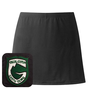 Ysgol Gyfyn Garth Olwg Gym Skort Skirt and Short Combi