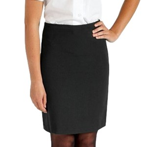"Black Banner School Skirt- 22"" LENGTH"