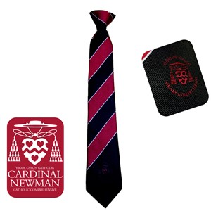 Cardinal Newman Catholic Comprehensive School Clip On Tie