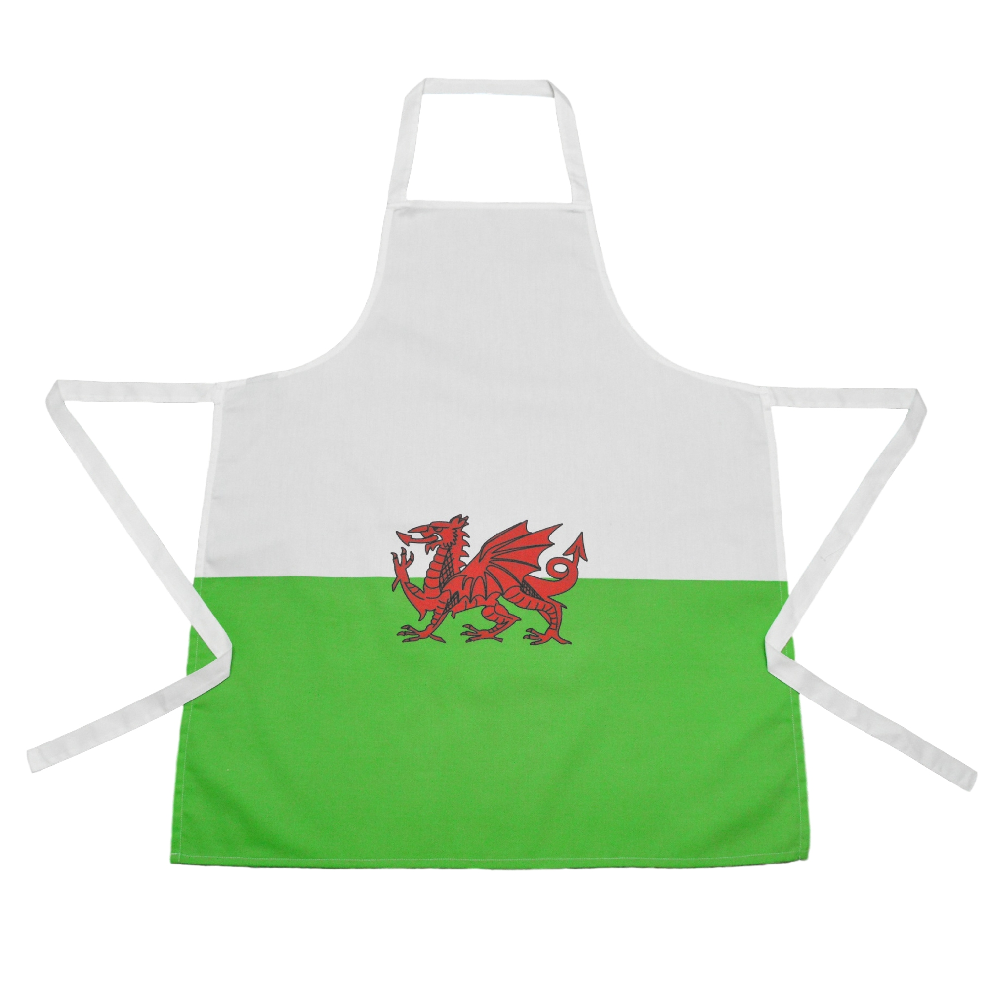 Welsh Flag Apron