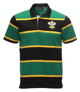 Retro SA Short Sleeve Rugby Shirt