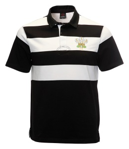 Retro NZ Short Sleeve Rugby Shirt
