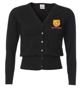 Bryn Celynog Comprehensive Girls Black Cardigan