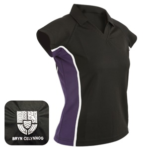 Bryn Celynog Comprehensive *GCSE* Girls Cut Sports Polo