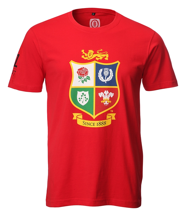 Official Lions Tour 2017 Red T-Shirt