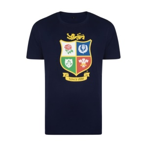 Official Lions Tour 2017 Navy T-Shirt