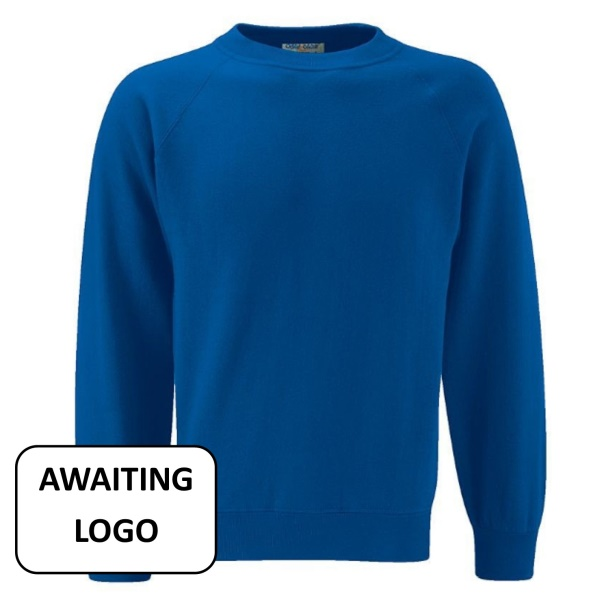 Ty Coch *PRIMARY* Blue Sweatshirt