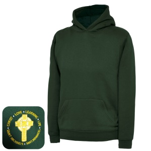 St Michael's Primary Green Overhead Hoodie