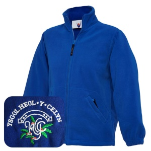 Heol-y-Celyn Blue Fleece Jacket