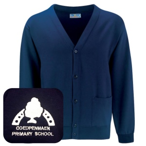 Coedpenmaen County Primary Navy Cardigan