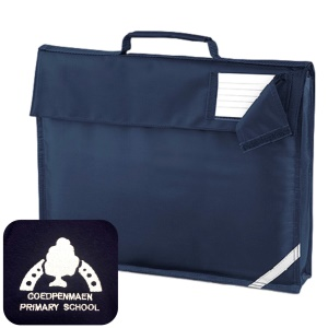 Coedpenmaen County Primary Navy Book Bag