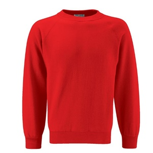 Ty Coch *POST 16* Red Jumper