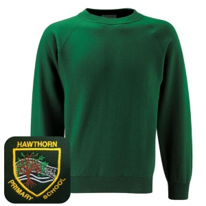 Hawthorn Primary Bottle Green Sweatshirt