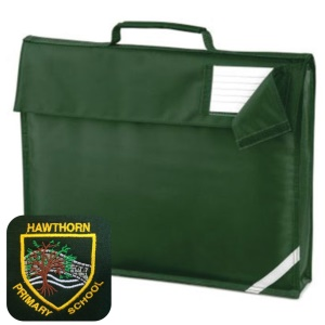 Hawthorn Primary Bottle Green Book Bag