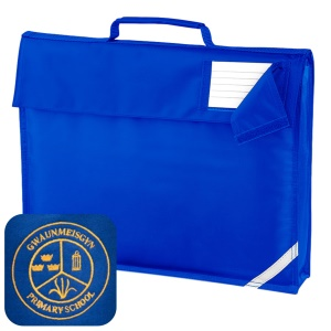 Gwaunmeisgyn Primary Blue Book Bag
