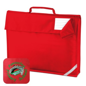 Pontyclun Primary Red Book Bag