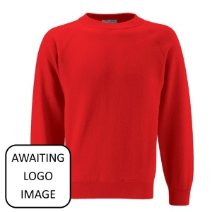 Troedyrhiw Community Primary School Red Sweatshirt