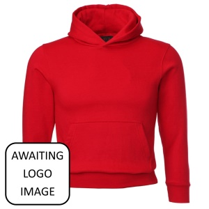 Cilfynydd Primary Red Overhead Hoodie