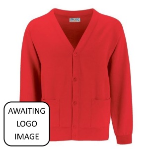 Troedyrhiw Community Primary School Red Cardigan